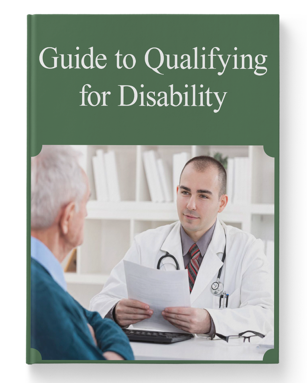 Guide to Qualifying for Disability 3D Cover